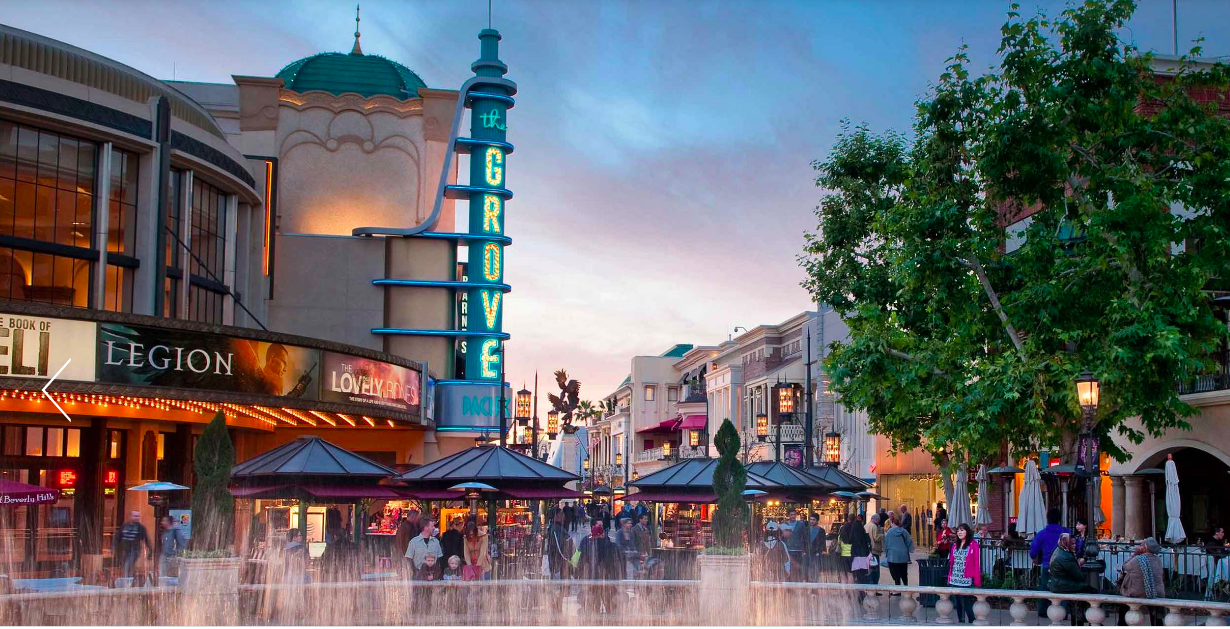 The Grove Is Transforming Into a Charity Drive-Thru
