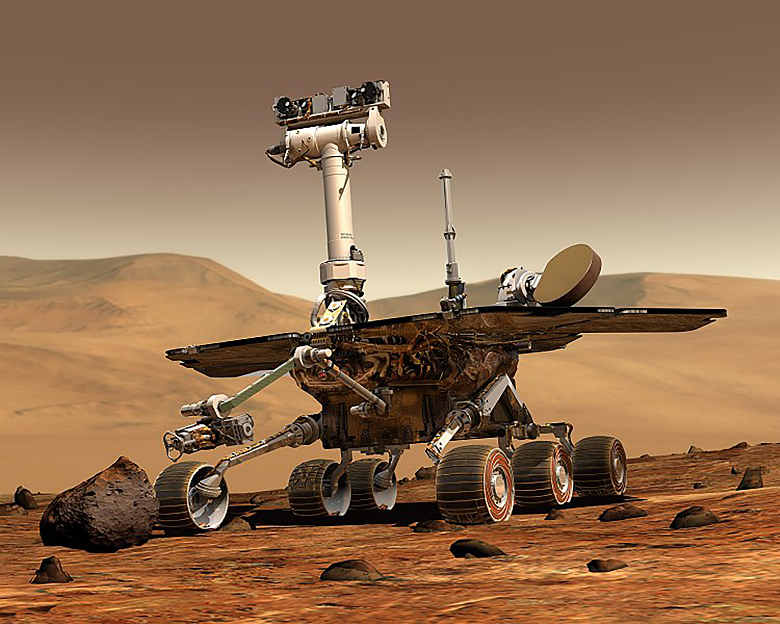 'Like a close friend': Students react to termination of Mars rover